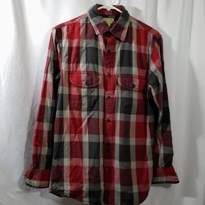 Sonoma Casual Button Down Shirt    Size S
